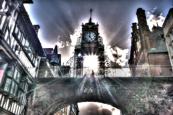 Eastgate Clock,Eastgate,Chester,